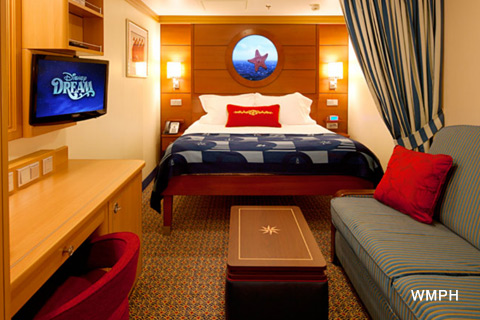 Disney Dream Cabin 7501 Category 10a Deluxe Inside