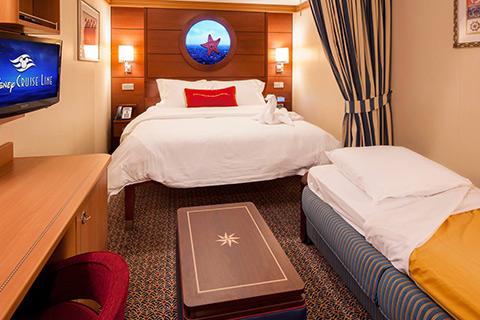 Disney Dream Cabin 9611 - Category 11A - Standard Inside Stateroom on