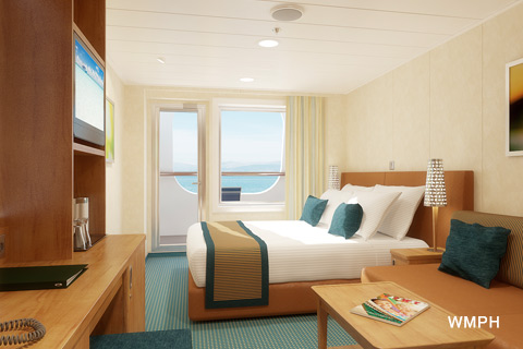 carnival breeze cabin 2330 category 7c cove balcony stateroom