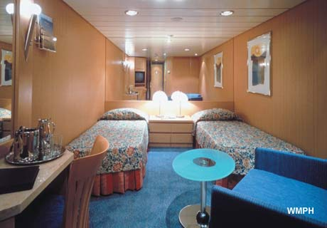 Celebrity Infinity Cabin 7137 - Category 2A - Deluxe Ocean ...