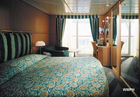 Celebrity Infinity Cabin 7064 Category 2c Deluxe Ocean View Stateroom With Verandah 7064 On Icruise Com