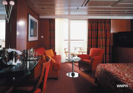 Celebrity Infinity Cabin 6131 Category S1 Sky Suite