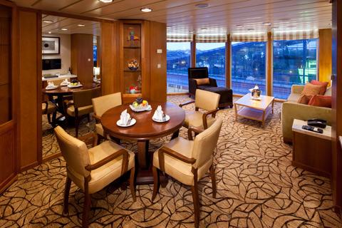 Celebrity Millennium Cabin 7138 Category Cs Celebrity Suite 7138 On Icruise Com