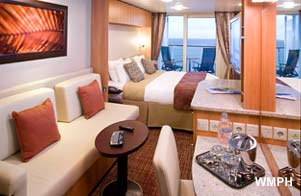 Celebrity Reflection - Category 2C - Cabin # 6276