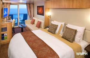 Celebrity Reflection - Category C2 - Cabin # 2206