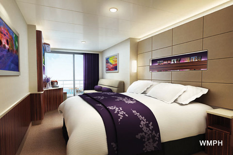 Norwegian Breakaway Cabin 12184 Category M3 Family Mini Suite With Balcony 12184 On Icruise Com