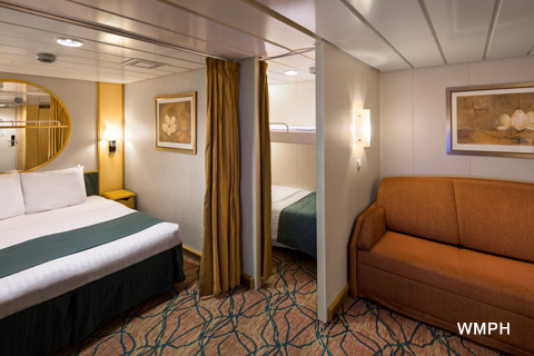 Enchantment Of The Seas Cabin 8015 Category 1r Spacious Interior Stateroom 8015 On