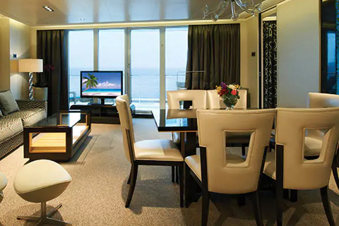 Norwegian Getaway Cabin 16102 Category H2 The Haven Deluxe Owner S Suite With Large Balcony