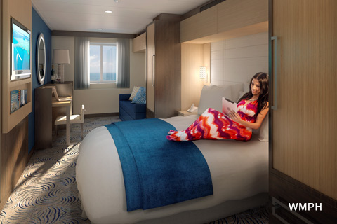 Anthem of the Seas Cabin 3570 - Category 1N - Ocean View ...