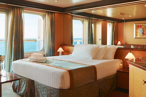 costa diadema cabin 11001 - category sv - samsara suite 11001 on