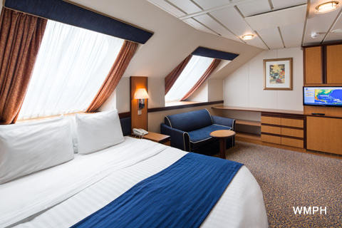 Radiance Of The Seas Cabin 7504 Category 1k Ultra Spacious Ocean View Stateroom 7504 On