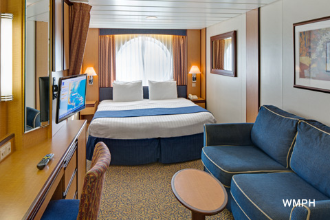 Radiance Of The Seas Cabin 7000 Category 2m Spacious Ocean View Stateroom 7000 On Icruise Com