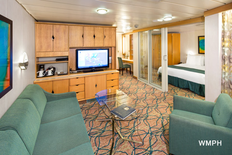 Rhapsody Of The Seas Cabin 8020 Category Gt Grand Suite 2 Bedroom 8020 On