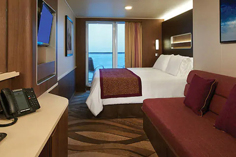 Norwegian Escape Cabin 10318 Category M1 Aft Facing Mini Suite With Balcony 10318 On Icruise Com