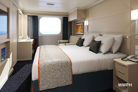 Koningsdam Cabin F1175 Category F Ocean View Stateroom