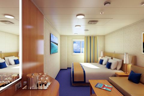 Carnival Vista Cabin 1428 Category 6l Deluxe Ocean