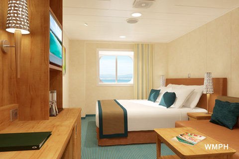 Carnival Vista Cabin 1352 Category 6M Deluxe Ocean View