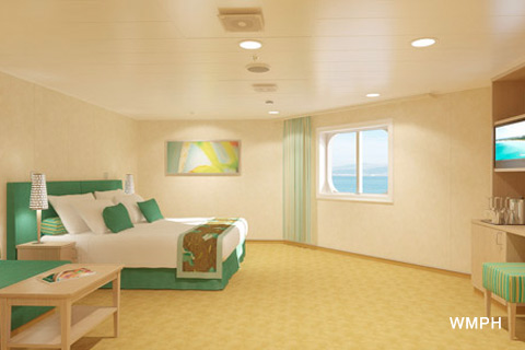 Carnival Vista Cabin 11202 Category 6S Cloud 9 Spa Ocean View