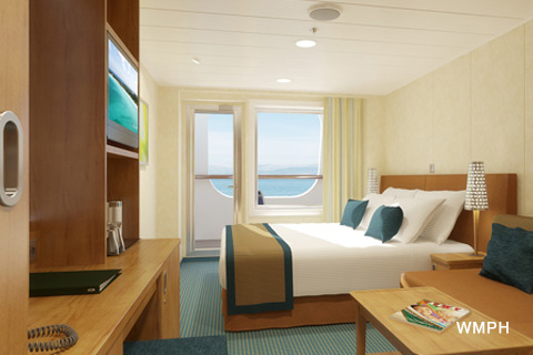 Carnival Vista Cabin 2298 Category 7C Cove Balcony Stateroom