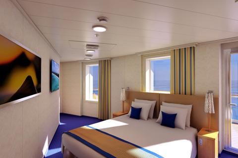 Carnival Vista Cabin 9471 Category 9C Premium Vista Balcony