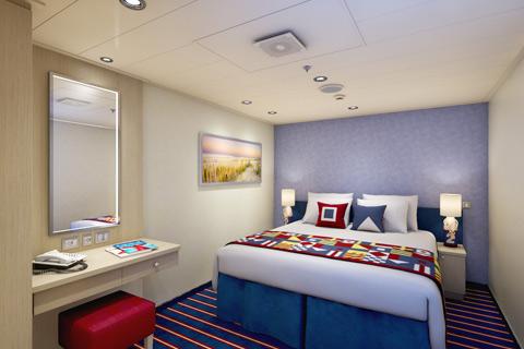 Carnival Vista Cabin 2424 Category Fa Family Harbor Interior Stateroom 2424 On Icruise Com