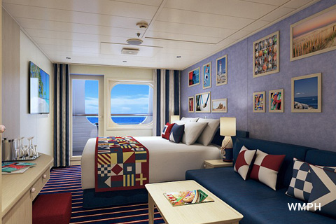Carnival Vista Cabin 2412 Category FM Family Harbor Cove Balcony