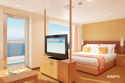 Carnival Vista Cabin 7402 Category GS Grand Suite 7402 on