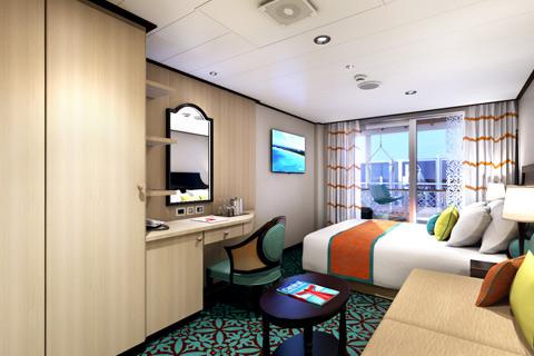 Carnival Vista Cabin 5223 Category HE Havana Cabana Stateroom
