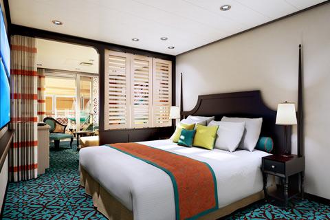 Carnival Vista Cabin 5235 Category HS Havana Cabana Suite 5235