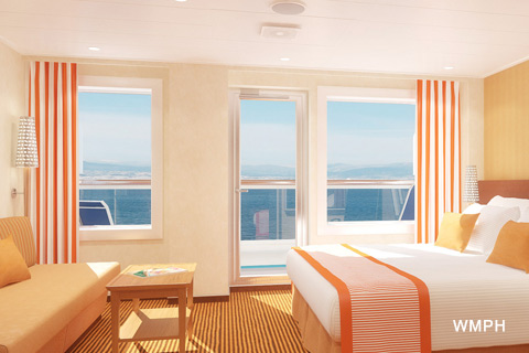 Carnival Vista Cabin 7333 Category OS Ocean Suite 7333 on