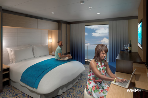 Ovation of the seas cabin 8179 category v1 large for Royal caribbean solo cabins