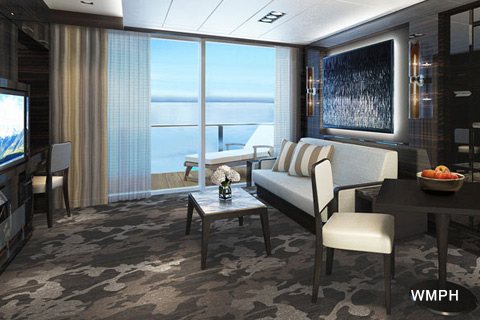 Norwegian Bliss Cabin 17110 Category H4 The Haven 2
