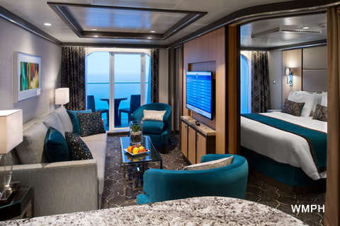 Symphony of the Seas - Category GS - Cabin # 10254