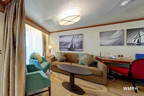 Azura Cabin A752 Category A1 Penthouse Suite A752 On