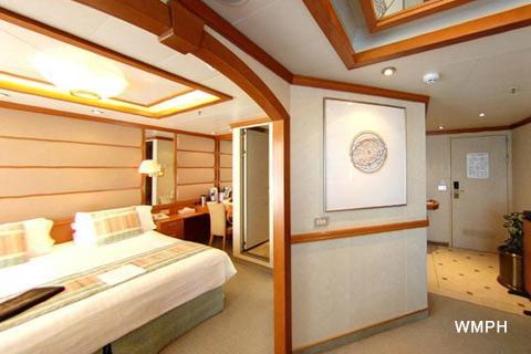 Oceana Cabin B318 Category C2 Mini Suite B318 On