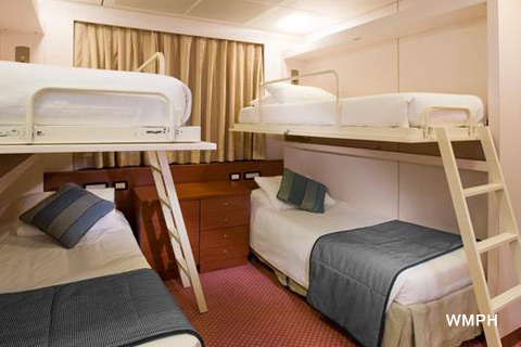 Pacific Dawn Cabin 9243 Category Ic Interior Stateroom 9243 On