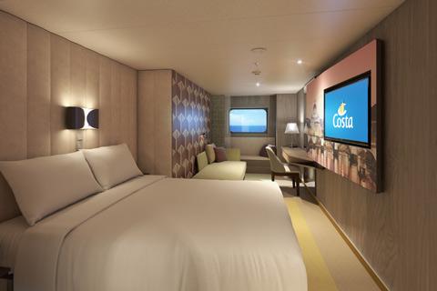 Costa Smeralda Cabin 4121 - Category EC - Classic Outside ...