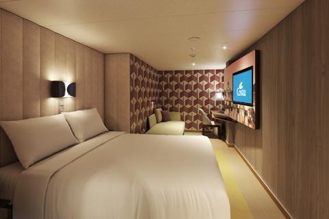 Costa Smeralda Cabin 5072 - Category IC - Classic Inside Stateroom ...