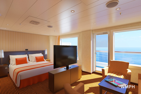 Carnival Sunrise Cabin 7307 Category Gs Grand Suite 7307 On Icruise Com