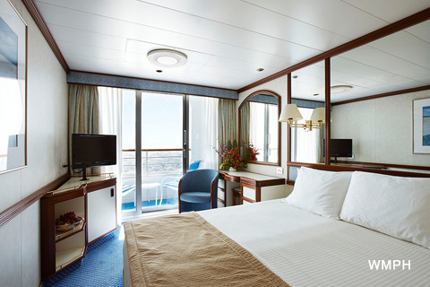 Sea Princess Cabin B610 Category Bb Balcony Stateroom