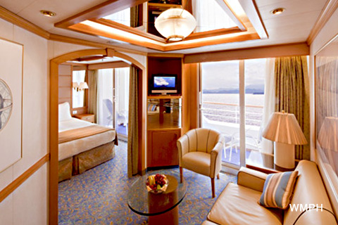 Sea Princess Cabin B321 Category Mb Mini Suite With