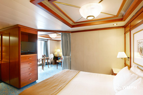 Sea Princess Cabin D750 Category S3 Balcony Suite D750