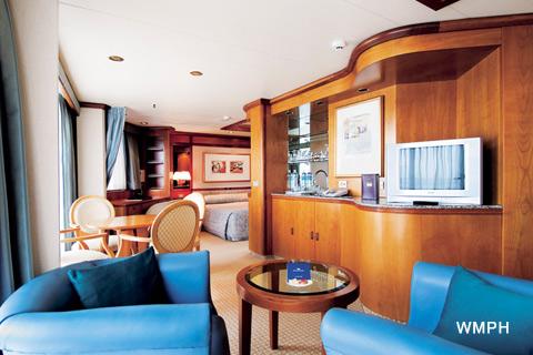 Sun Princess Cabin B748 Category S2 Balcony Suite B748