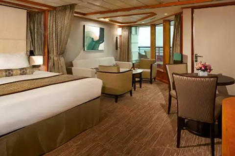 Norwegian Dawn Cabin 12522 Category Sd Family Suite