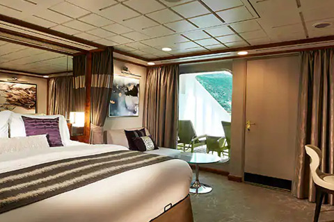 Norwegian Star Cabin 10726 Category Sf Aft Facing Penthouse Suite With Large Balcony 10726