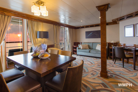 disney magic cabin 8516 - category 00s - concierge 2-bedroom suite