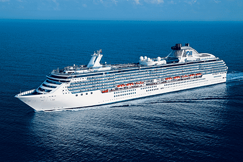 Night Panama Canal Ocean To Ocean Cruise On Coral Princess From - Cruise ships from san francisco