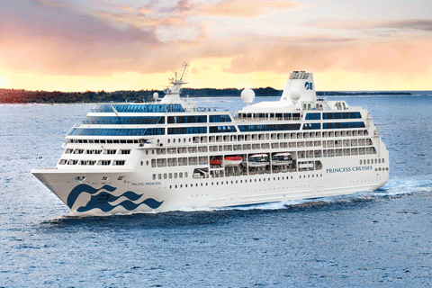 Night Fire And Ice Explorer Cruise On Pacific Princess From - Princess cruise ship fire