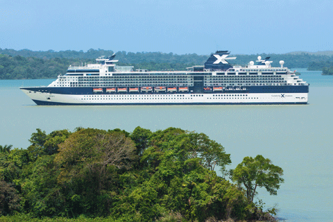 Night Panama Canal Westbound Cruise On Celebrity Infinity From - Cruises from fort lauderdale