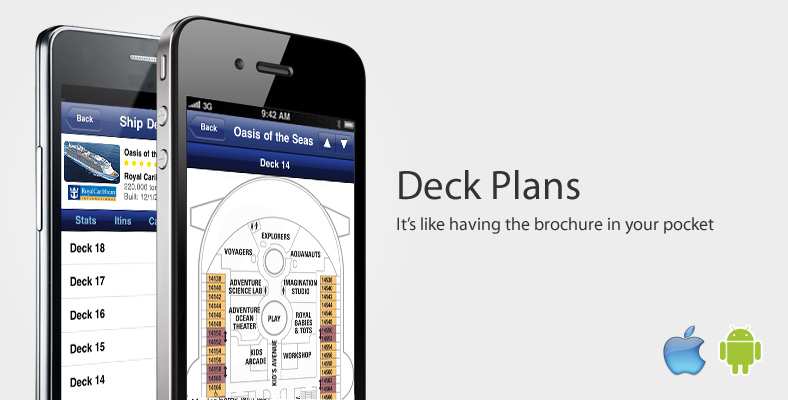 iCruise Cruise Finder™ iPhone and Android App.